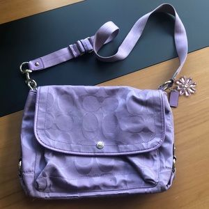 Coach Cross Body Bag (Large)